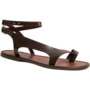 Παπούτσια Γυναίκα Σανδάλια / Πέδιλα Gianluca - L'artigiano Del Cuoio 526 D MORO CUOIO Testa di Moro
