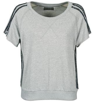 Υφασμάτινα Γυναίκα T-shirt με κοντά μανίκια Religion B114HRW02 Grey