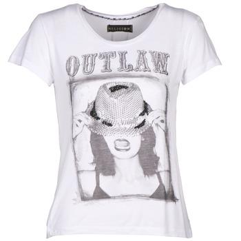 Υφασμάτινα Γυναίκα T-shirt με κοντά μανίκια Religion B123OLT45 Άσπρο