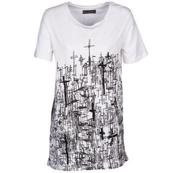Υφασμάτινα Γυναίκα T-shirt με κοντά μανίκια Religion B123CND13 Άσπρο
