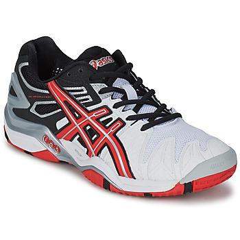 Παπούτσια Άνδρας Tennis Asics GEL-RESOLUTION Άσπρο / Red / Black
