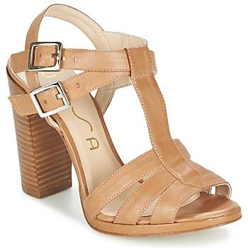 Παπούτσια Γυναίκα Σανδάλια / Πέδιλα Unisa YUM Beige