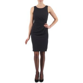Υφασμάτινα Γυναίκα Κοντά Φορέματα Esprit BEVERLY CREPE Black
