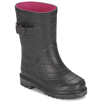 Παπούτσια Κορίτσι Μπότες βροχής Be Only CROCO Black