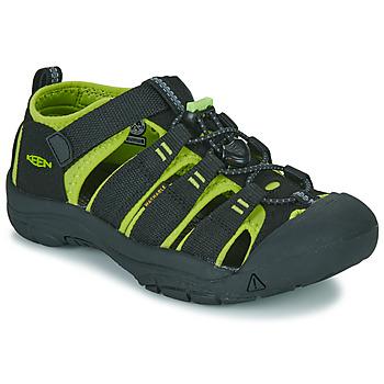 Παπούτσια Παιδί Σπορ σανδάλια Keen KIDS NEWPORT H2 Black / Green