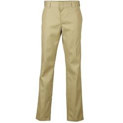 Υφασμάτινα Άνδρας Παντελόνια Chino/Carrot Dickies SLIM FIT WORK PANT Beige