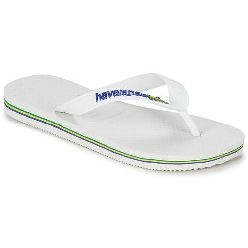 Παπούτσια Παιδί Σαγιονάρες Havaianas BRASIL LOGO Άσπρο