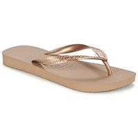 Παπούτσια Γυναίκα Σαγιονάρες Havaianas TOP METALLIC ροζ / Gold