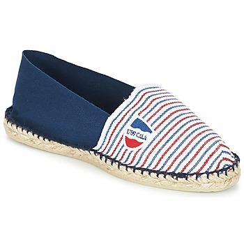Παπούτσια Εσπαντρίγια 1789 Cala CLASSIQUE BICOLORE Μπλέ / Άσπρο / Red