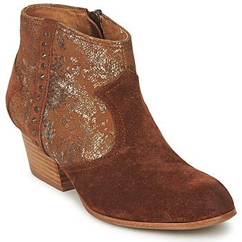 Παπούτσια Γυναίκα Μποτίνια Schmoove WHISPER VEGAS Brown / Glitter