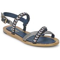 Παπούτσια Γυναίκα Σανδάλια / Πέδιλα Schmoove MEMORY LINK Argenté / Marine