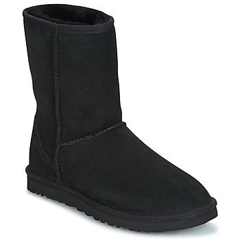 Παπούτσια Γυναίκα Μπότες UGG CLASSIC SHORT ΜΑΥΡΟ