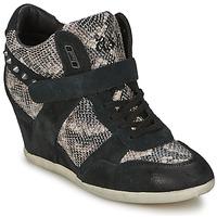Παπούτσια Γυναίκα Ψηλά Sneakers Ash BISOU Black / Python