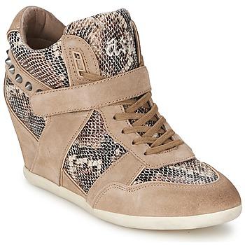 Ψηλά Sneakers Ash BISOU ΣΤΕΛΕΧΟΣ: Δέρμα & ΕΠΕΝΔΥΣΗ: Ύφασμα & ΕΣ. ΣΟΛΑ: Δέρμα & ΕΞ. ΣΟΛΑ: Καουτσούκ