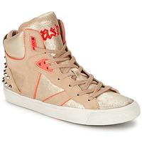 Παπούτσια Γυναίκα Ψηλά Sneakers Ash SPIRIT Beige / Ροζ