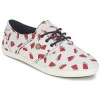 Παπούτσια Γυναίκα Χαμηλά Sneakers Faguo CYPRESS Άσπρο / Red