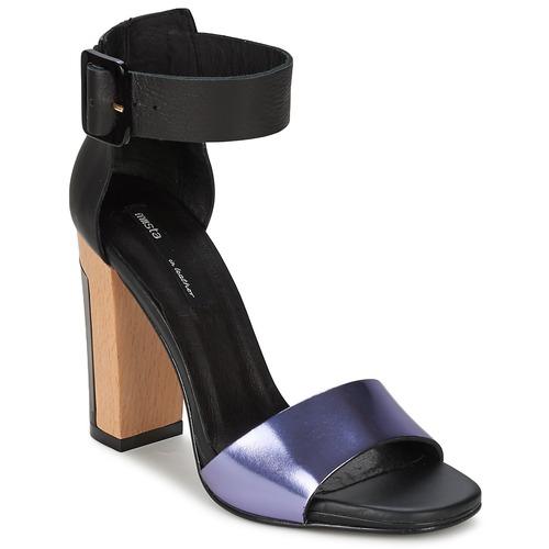 Παπούτσια Γυναίκα Σανδάλια / Πέδιλα Miista LILY Black / Lavande