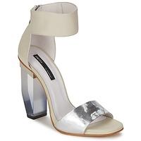 Παπούτσια Γυναίκα Σανδάλια / Πέδιλα Miista JAYDA Άσπρο / Argenté