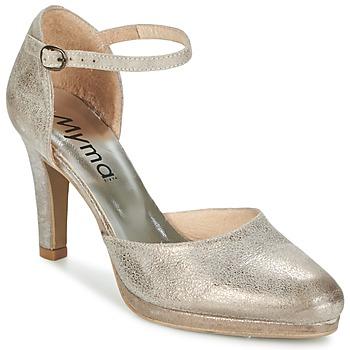 Παπούτσια Γυναίκα Σανδάλια / Πέδιλα Myma LUBBO Μεταλικό