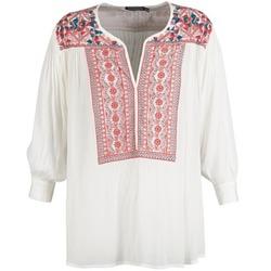 Υφασμάτινα Γυναίκα Μπλούζες Antik Batik CAREYES άσπρο