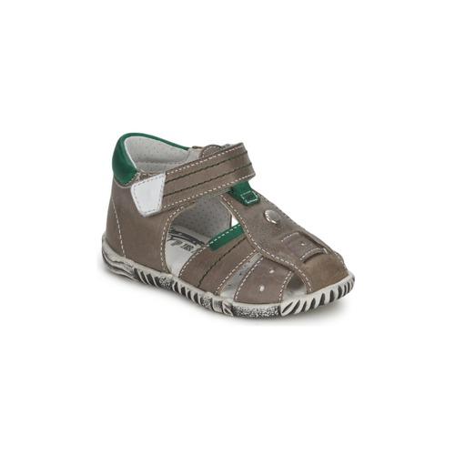Παπούτσια Αγόρι Σανδάλια / Πέδιλα Primigi QUINCY Grey / Green