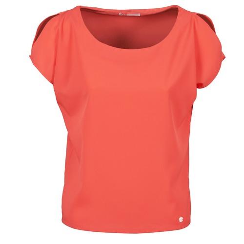 Υφασμάτινα Γυναίκα T-shirt με κοντά μανίκια Les P'tites Bombes S145003 Red