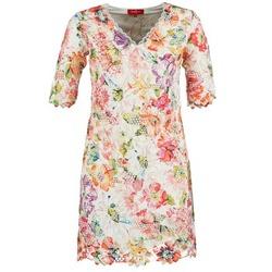 Υφασμάτινα Γυναίκα Κοντά Φορέματα Derhy EBULLITION ECRU