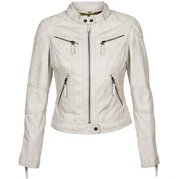 Υφασμάτινα Γυναίκα Δερμάτινο μπουφάν Oakwood 60135 Άσπρο