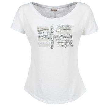 Υφασμάτινα Γυναίκα T-shirt με κοντά μανίκια Napapijri SINK άσπρο