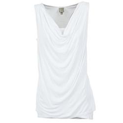 Υφασμάτινα Γυναίκα Αμάνικα / T-shirts χωρίς μανίκια Bench DUPLE άσπρο