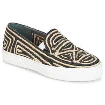 Παπούτσια Γυναίκα Slip on Robert Clergerie TRIBAL Black / Beige