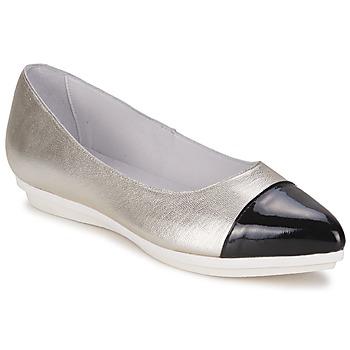 Παπούτσια Γυναίκα Μπαλαρίνες Alba Moda DRINITE Silver / Black