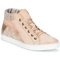 Παπούτσια Γυναίκα Ψηλά Sneakers Dream in Green MOLIMELA Beige / ροζ