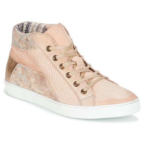 Παπούτσια Γυναίκα Χαμηλά Sneakers Dream in Green MOLIMELA Beige / Ροζ