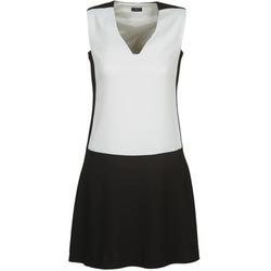 Υφασμάτινα Γυναίκα Κοντά Φορέματα Joseph DORIA Black / Άσπρο