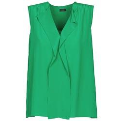 Υφασμάτινα Γυναίκα Αμάνικα / T-shirts χωρίς μανίκια Joseph DANTE Green