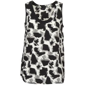Υφασμάτινα Γυναίκα Αμάνικα / T-shirts χωρίς μανίκια Joseph DEBUTANTE Black / άσπρο / Grey