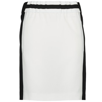 Υφασμάτινα Γυναίκα Φούστες Joseph RIA-TECHNO Black / Άσπρο