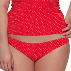 Υφασμάτινα Γυναίκα Μαγιό μόνο το πάνω ή κάτω μέρος Curvy Kate CS2705 FLAME SPOT Red