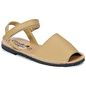 Παπούτσια Κορίτσι Σανδάλια / Πέδιλα Citrouille et Compagnie BERLA Beige