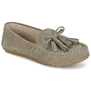 Παπούτσια Γυναίκα Μοκασσίνια Esprit SIRA LOAFER Kaki /  clair