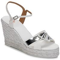 Παπούτσια Γυναίκα Σανδάλια / Πέδιλα Castaner BESSIE Άσπρο / Argenté