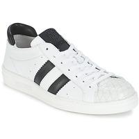 Παπούτσια Γυναίκα Χαμηλά Sneakers Bikkembergs BOUNCE 594 LEATHER Άσπρο / Black
