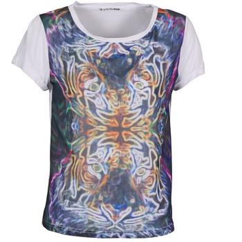 Υφασμάτινα Γυναίκα T-shirt με κοντά μανίκια DDP PORIX Multicolour