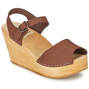 Παπούτσια Γυναίκα Σανδάλια / Πέδιλα Le comptoir scandinave  Brown