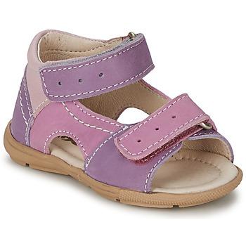 Παπούτσια Κορίτσι Σανδάλια / Πέδιλα Citrouille et Compagnie KIMMY G Lilas / Violet /  NUEE
