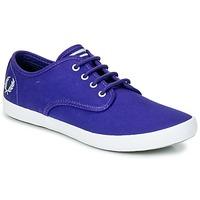 Παπούτσια Άνδρας Χαμηλά Sneakers Fred Perry FOXX TWILL Violet