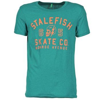 Υφασμάτινα Άνδρας T-shirt με κοντά μανίκια Benetton IXIDINE Green
