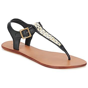 Παπούτσια Γυναίκα Σανδάλια / Πέδιλα Koah MELL Black / Argenté