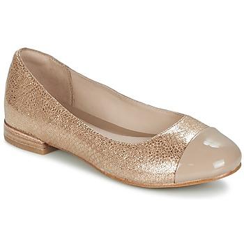 Παπούτσια Γυναίκα Μπαλαρίνες Clarks FESTIVAL GOLD Champagne
